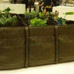Bacsquare, un carré de jardin avec une paroi en géotextile 100% recyclable