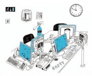 Bascule informatique à la Camif