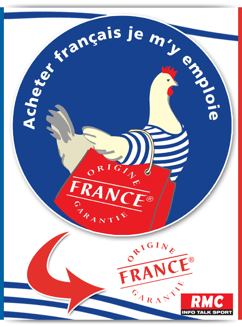 Origine France Garantie.